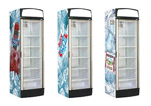 холодильники з рекламою