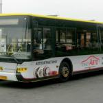 """реклама на автобусі для ТМ """"Планет Авто"""""""