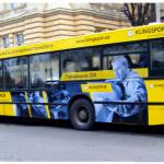 """Реклама на автобусі для ТМ """"Klingspor"""""""
