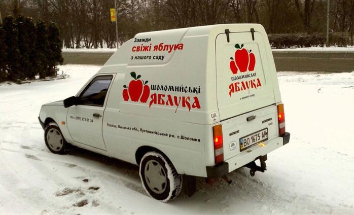 """Реклама для ТМ """"Шоломийські ЯБЛУКА"""""""