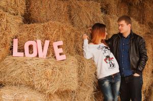 Букви LOVE