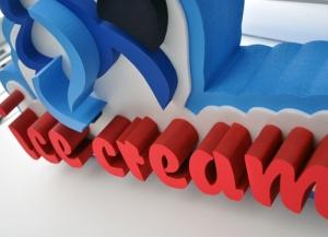 Виготовлення логотипів з пінопласту