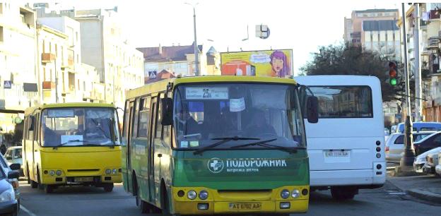 Реклама на маршрутках Івано-Франківськ