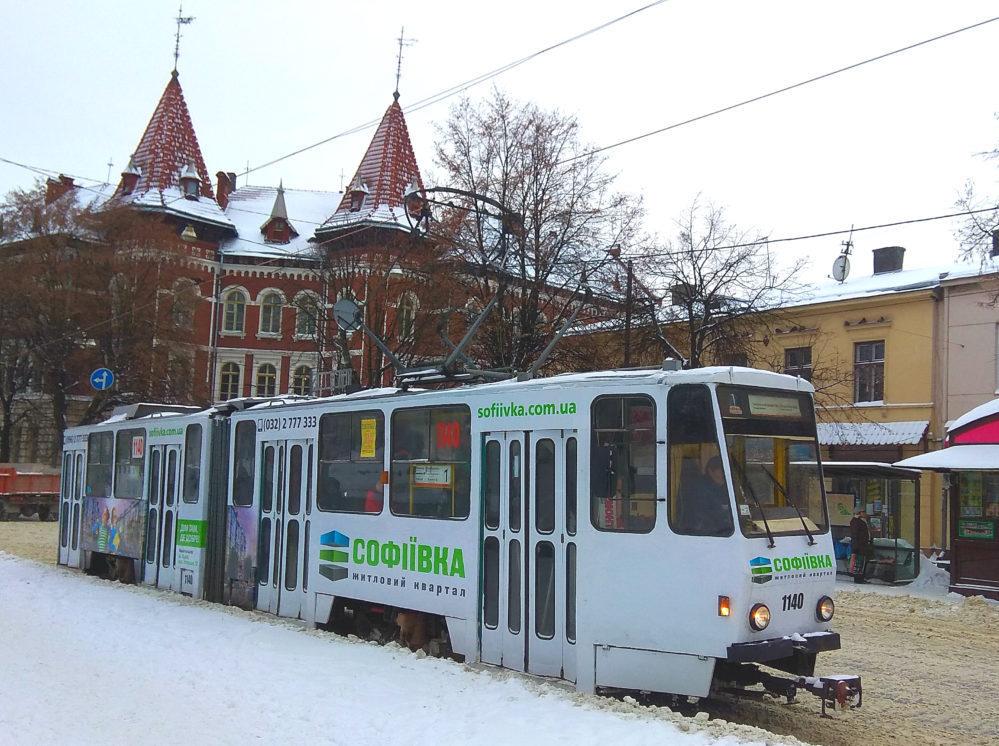Реклама на трамвай