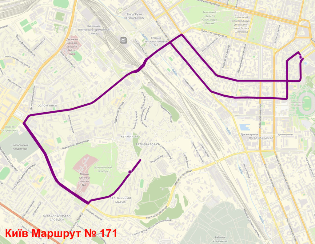 Маршрутка 171 Київ
