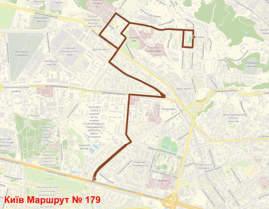 Маршрутка 179 Київ