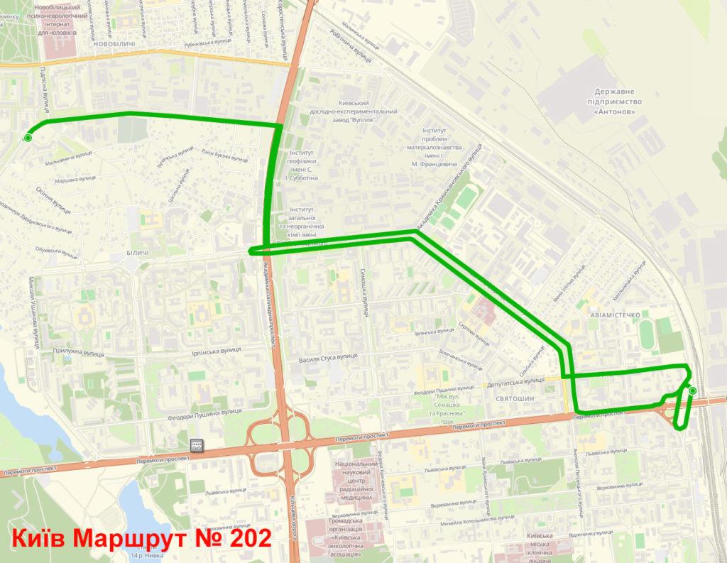 Маршрутка 202 Київ