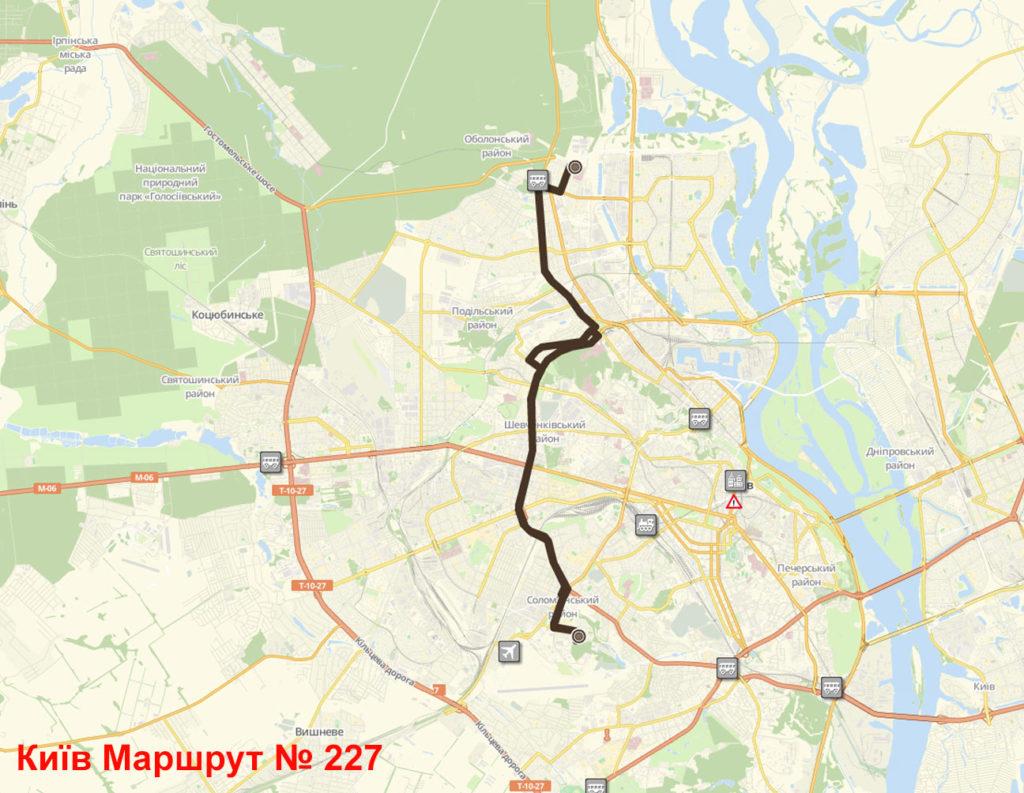 Маршрутка 227 Київ