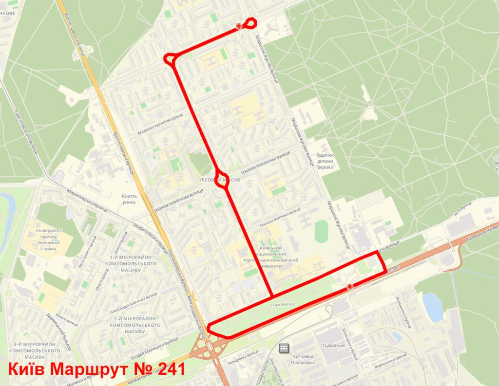 Маршрутка 241 Київ