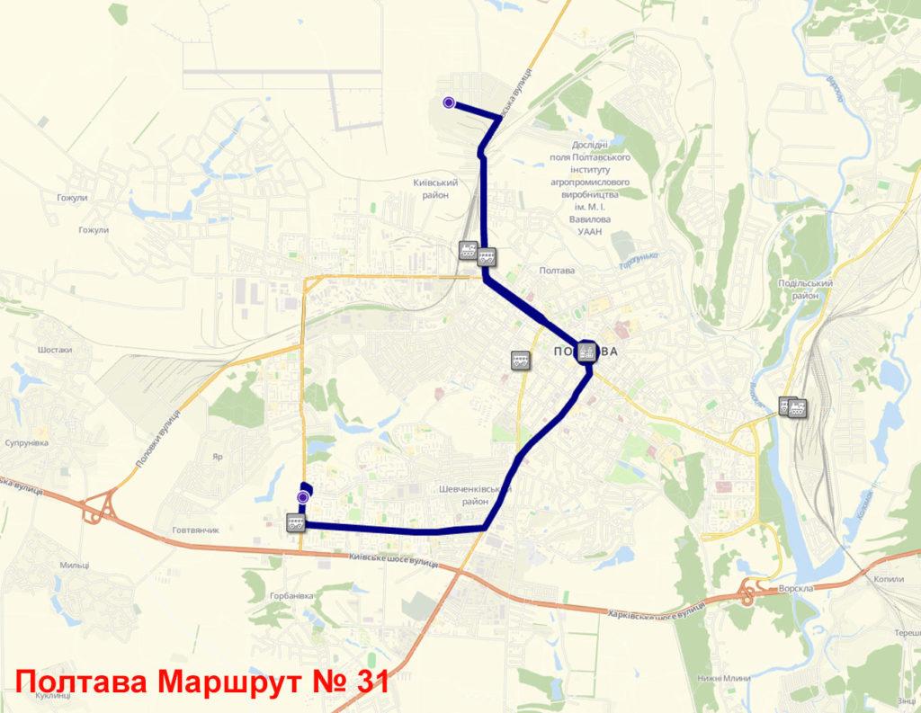 Маршрутка 31 Полтава