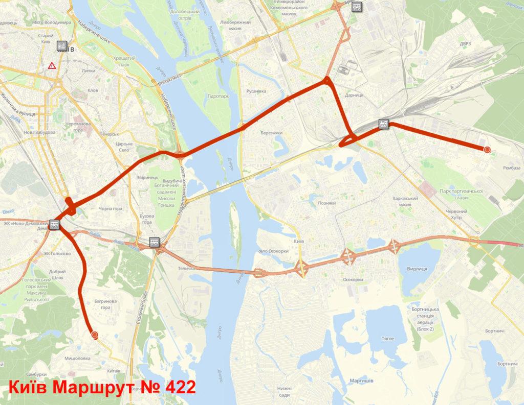 Маршрутка 422 Київ
