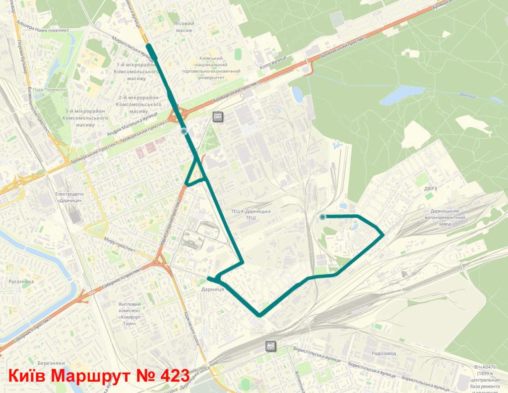Маршрутка 423 Київ