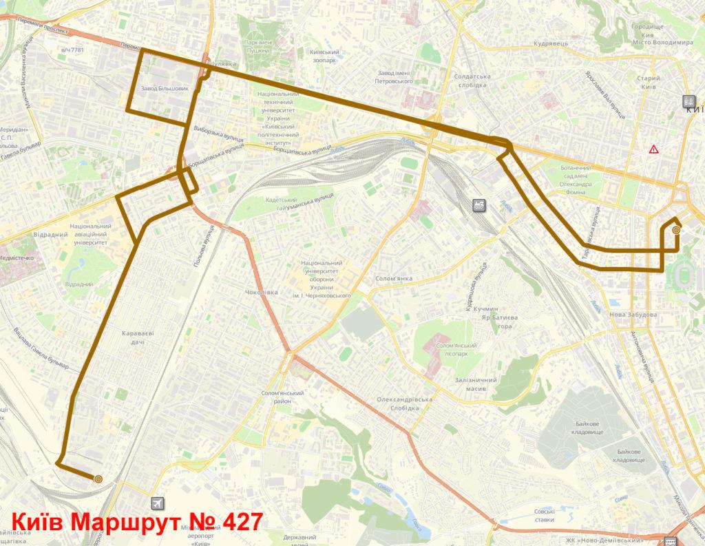 Маршрутка 427 Київ