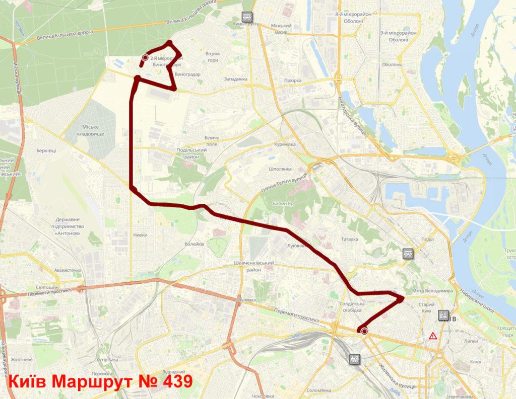 Маршрутка 439 Київ