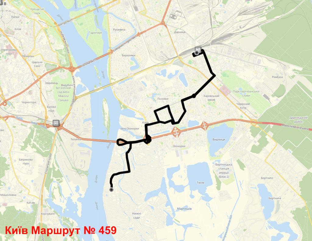 Маршрутка 459 Київ