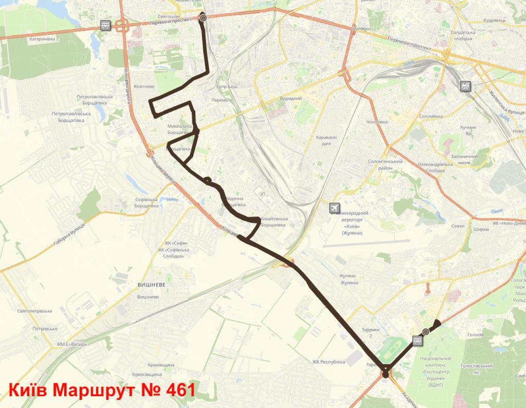 Маршрутка 461 Київ
