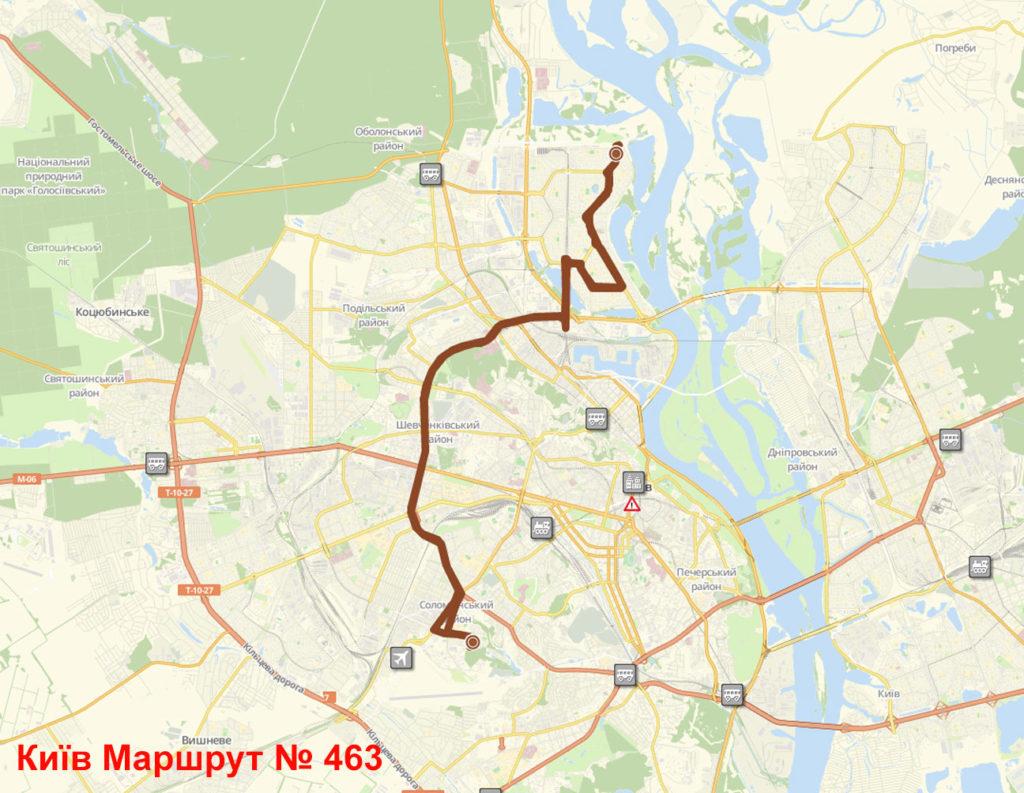 Маршрутка 463 Київ