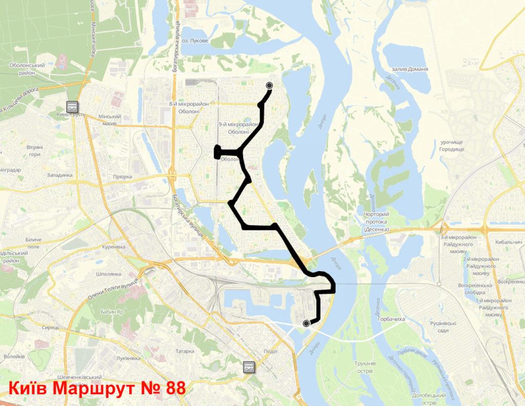Автобус 88 Київ
