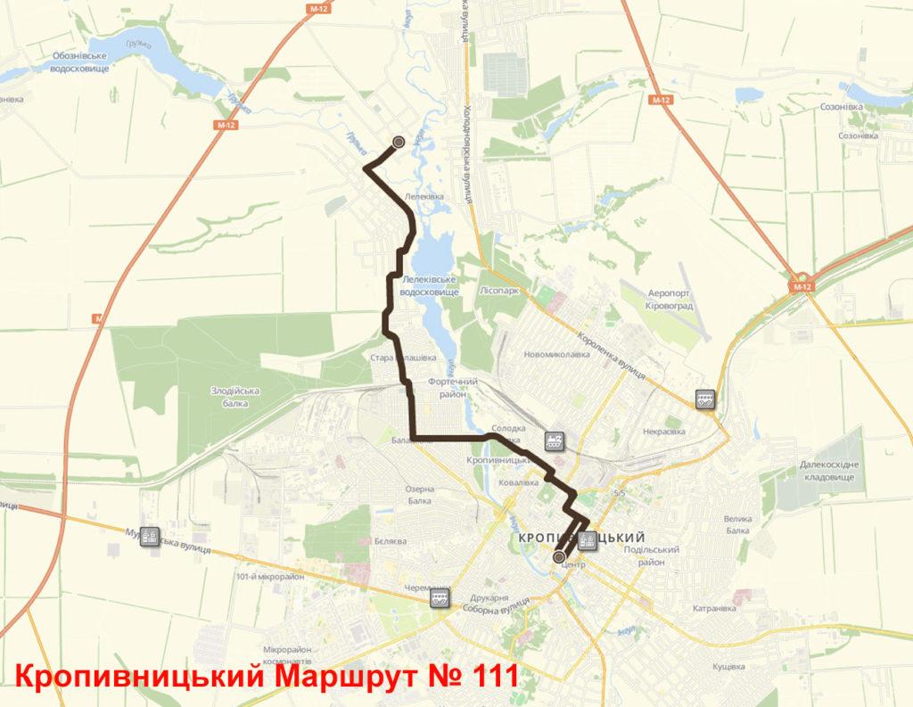 Маршрутка 111 Кропивницький