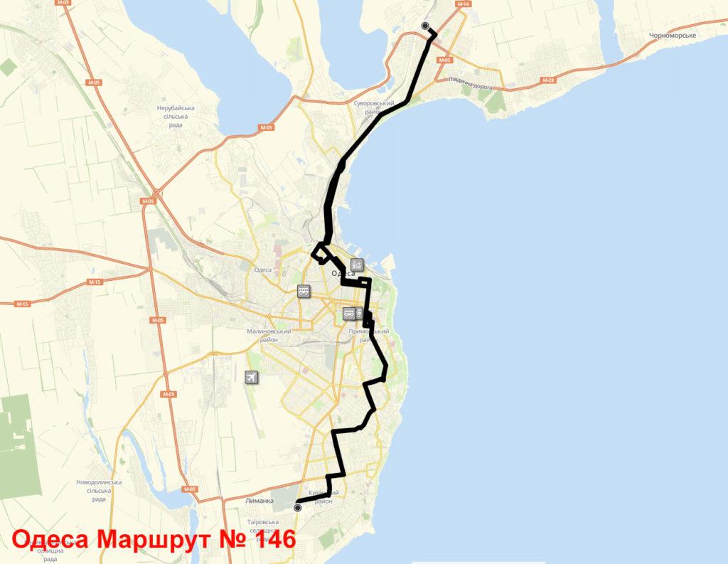 Маршрутка 146 Одеса