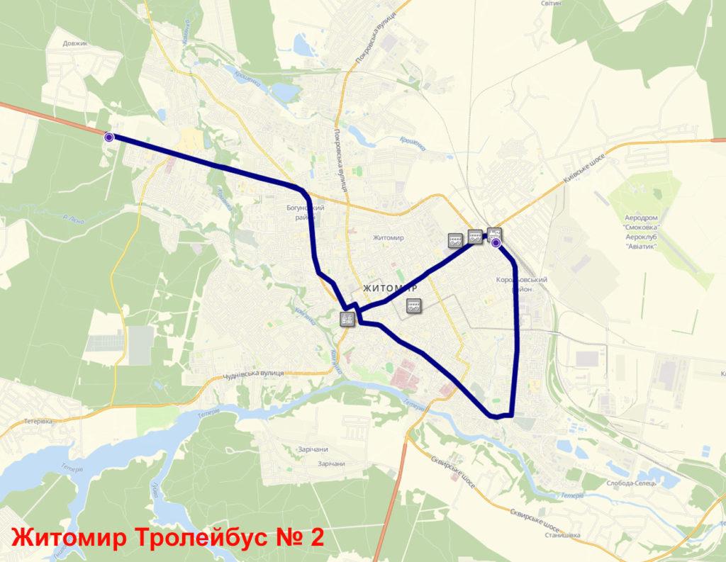Тролейбус 2 Житомир