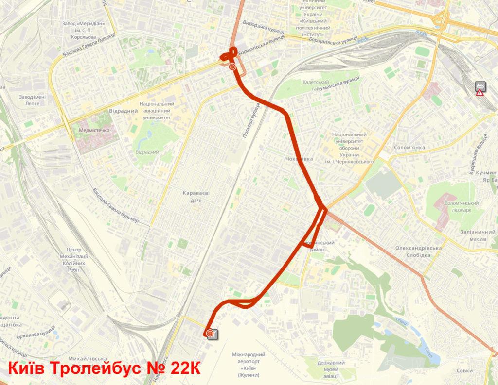 Тролейбус 22К Київ