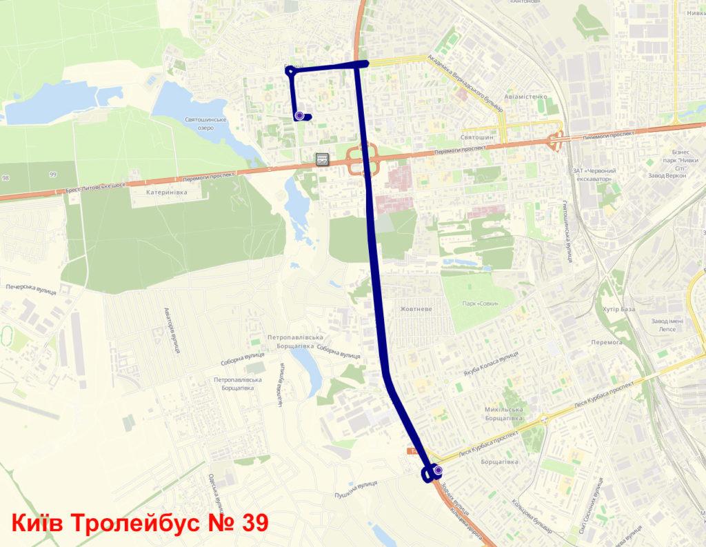 Тролейбус 39 Київ