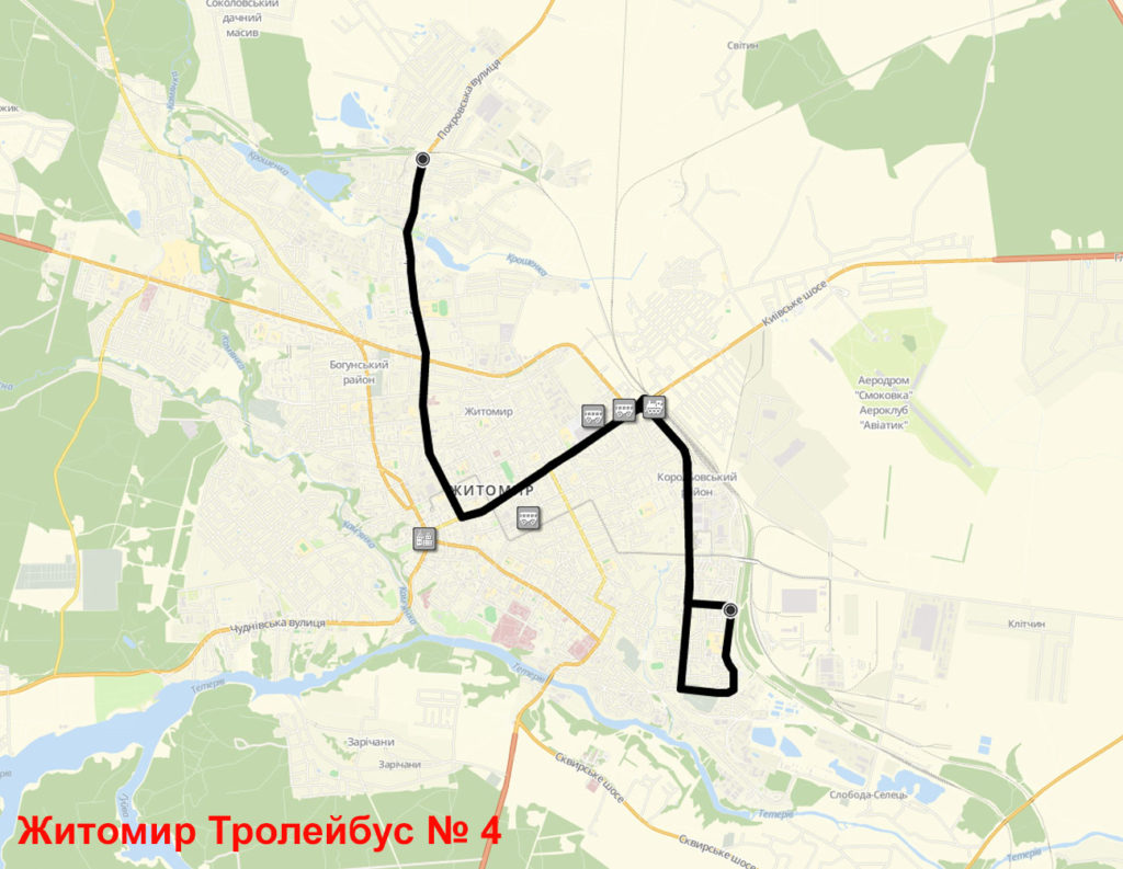 Тролейбус 4 Житомир