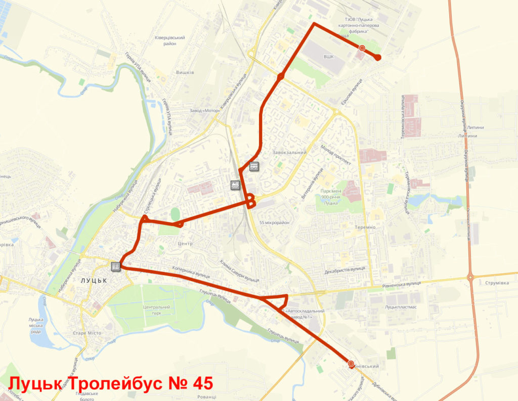 Тролейбус 5 Луцьк