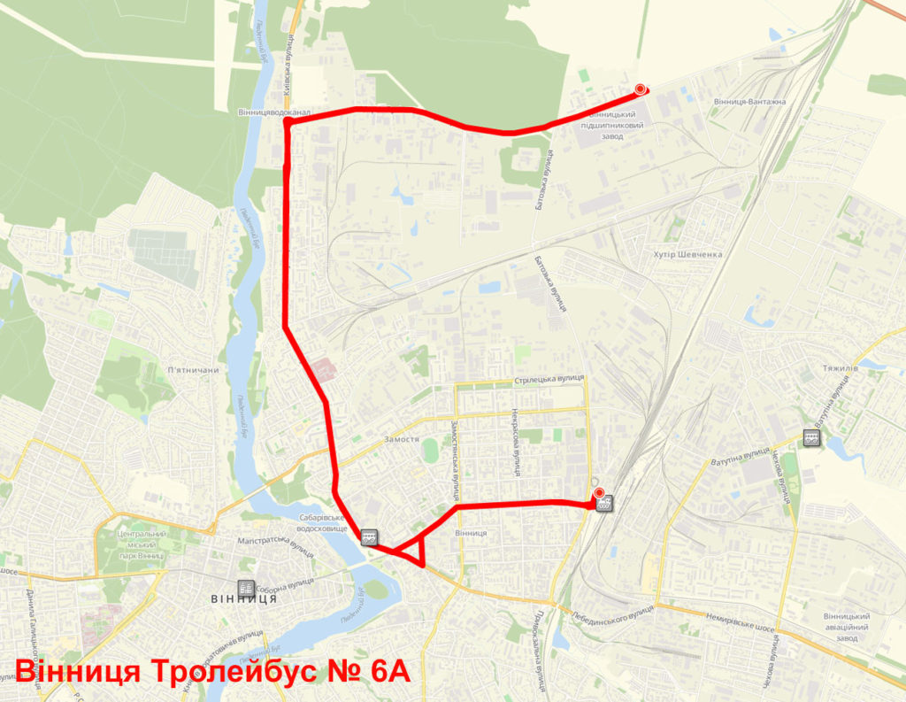 Тролейбус 6А Вінниця