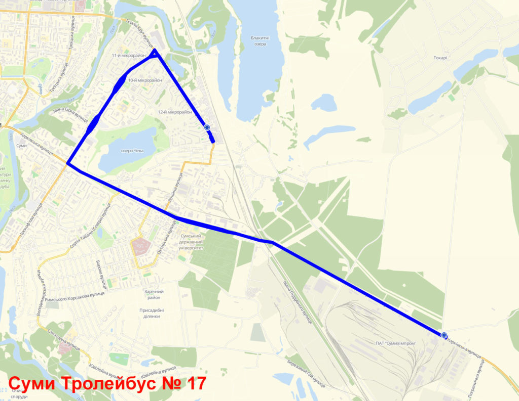Тролейбус 17 Суми