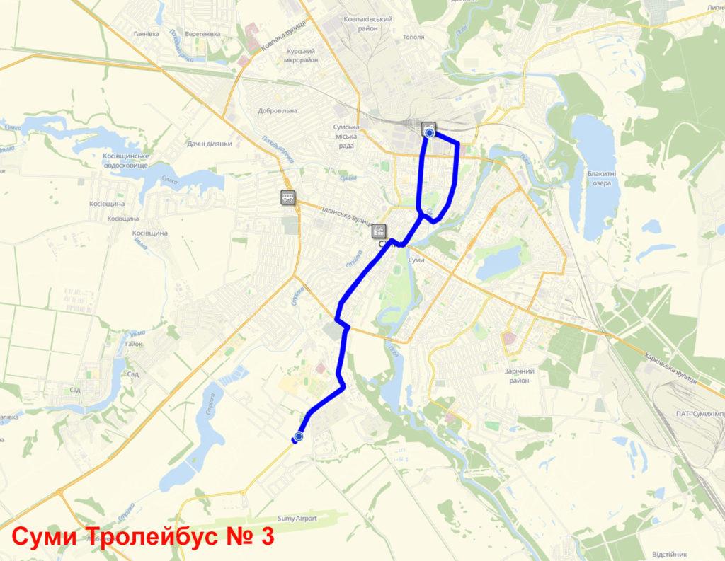 Тролейбус 3 Суми