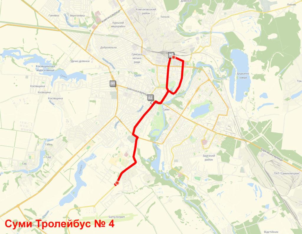 Тролейбус 4 Суми