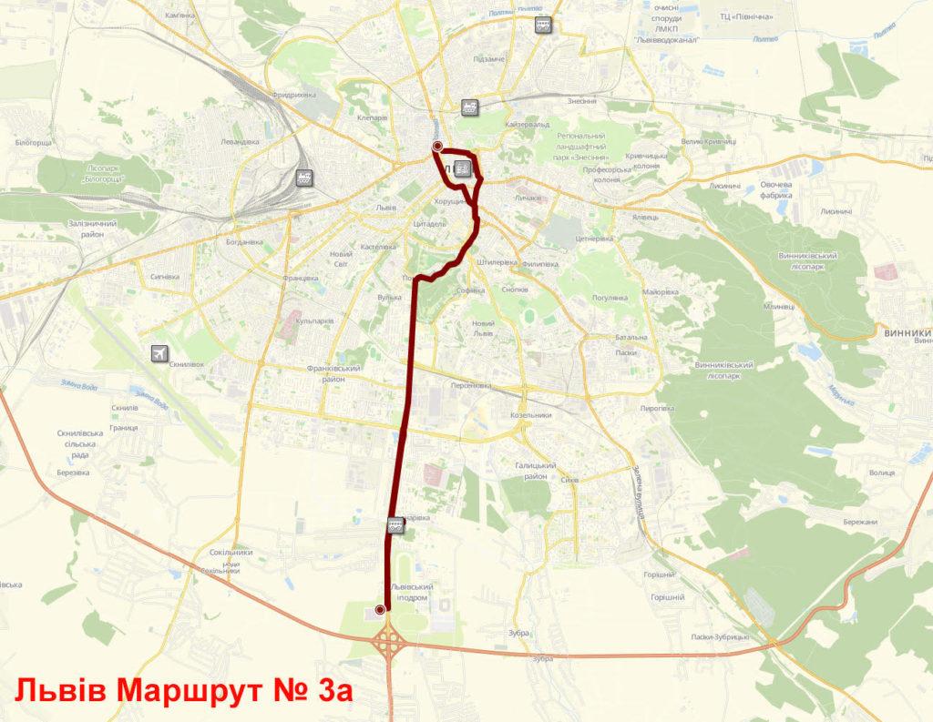 Автобус 3А Львів