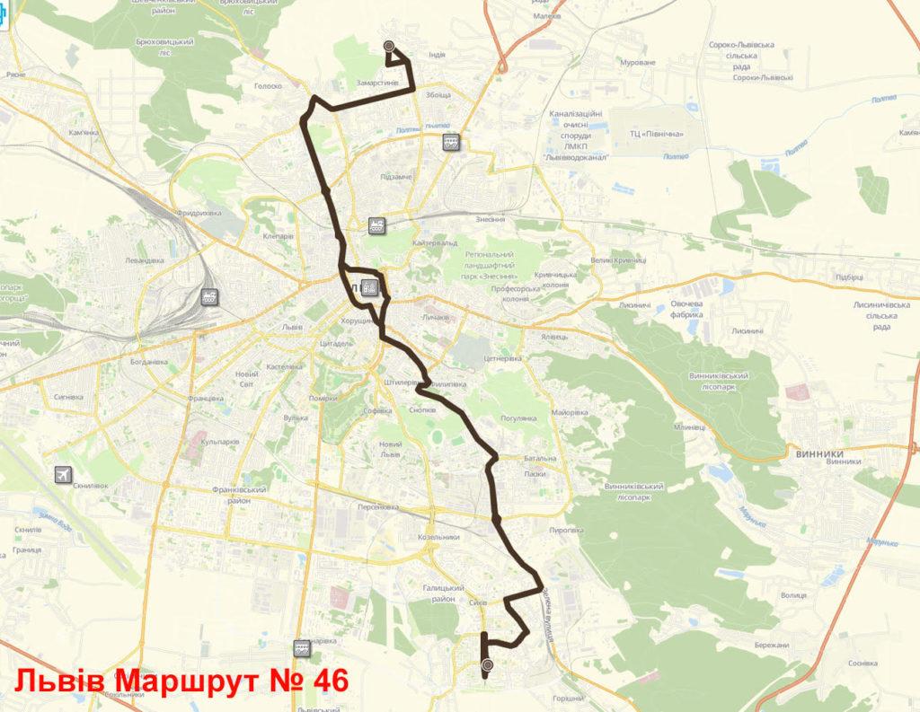 Автобус 46 Львів