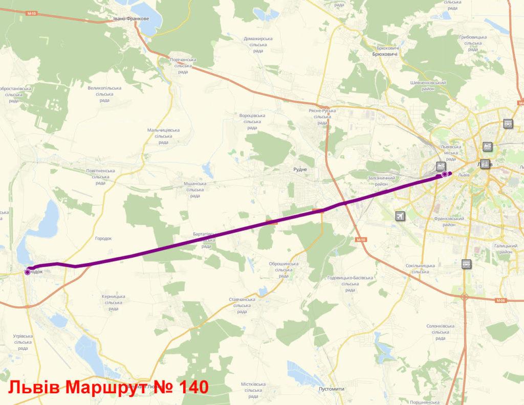 Маршрутка 140 Львів