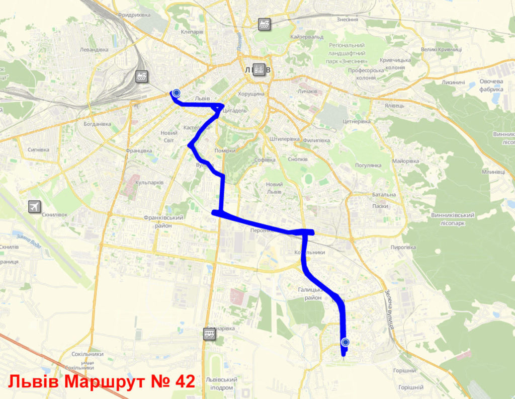 Маршрутка 42 Львів
