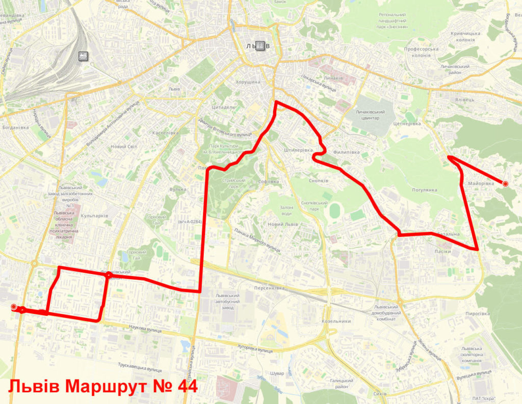 Маршрутка 44 Львів