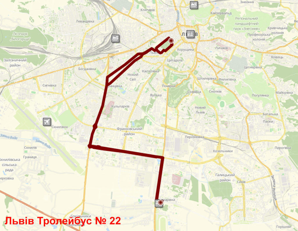 Тролейбус 22 Львів