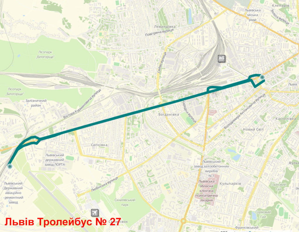 Тролейбус 27 Львів