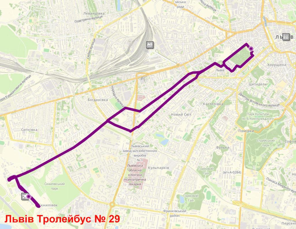 Тролейбус 29 Львів
