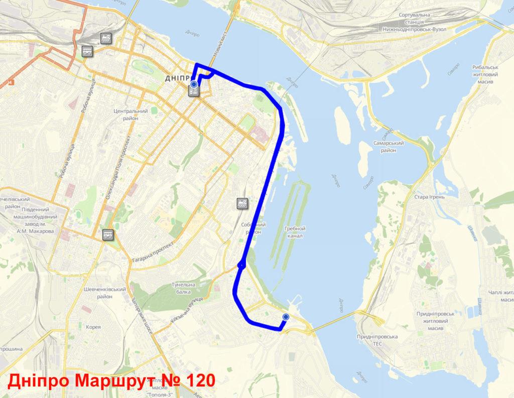 Маршрутка 120 Дніпро