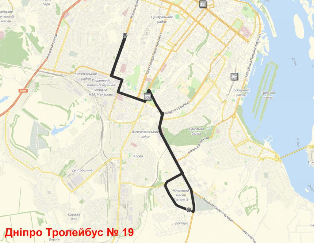 Тролейбус 19 Дніпро